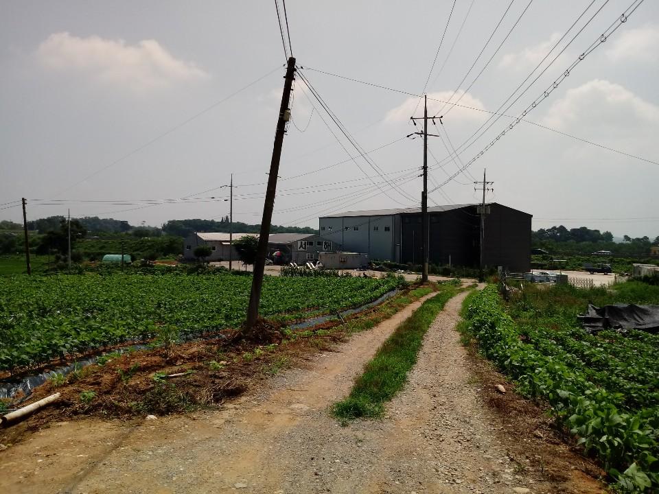 당진시 토지매도(계획관리지역, 120평)